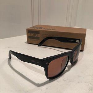 """TOMS Sunglasses """"The James"""" Unisex Matte Black"""